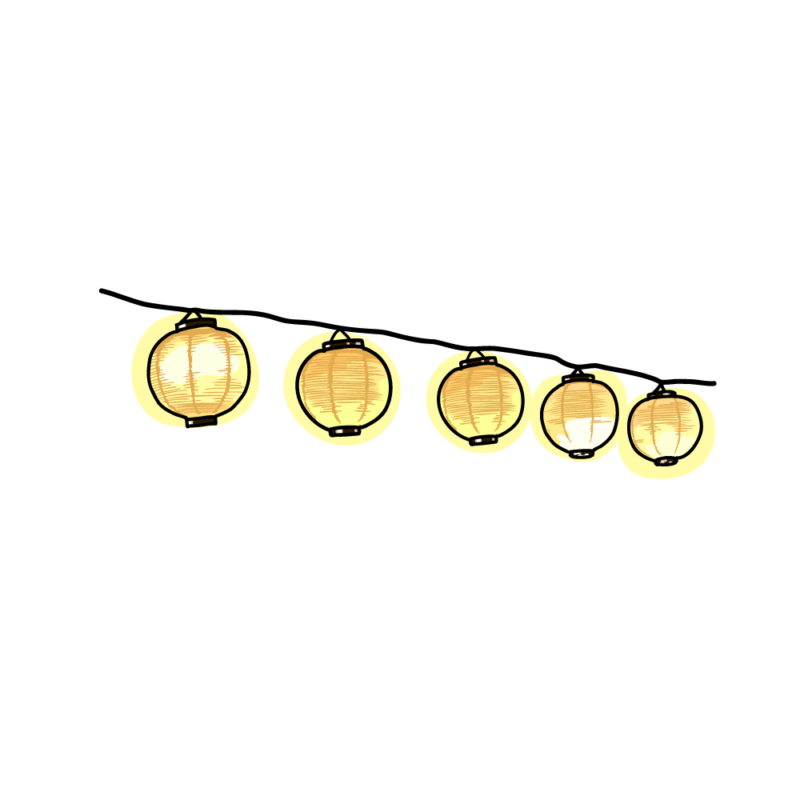提灯のガーランド0103