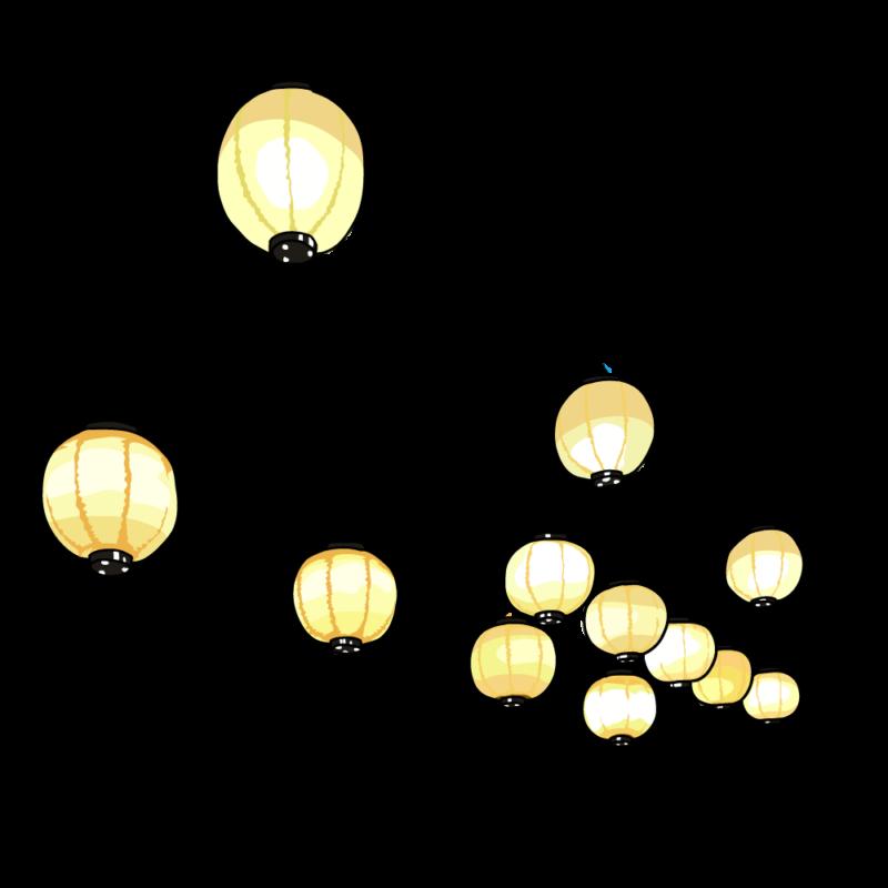 提灯のガーランド0205