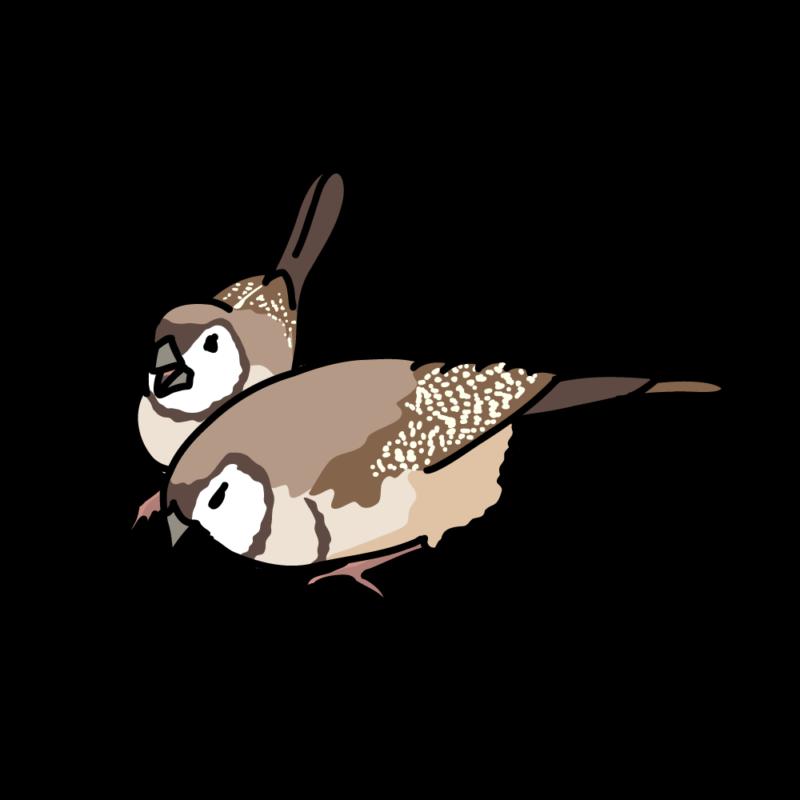 鹿の子雀01