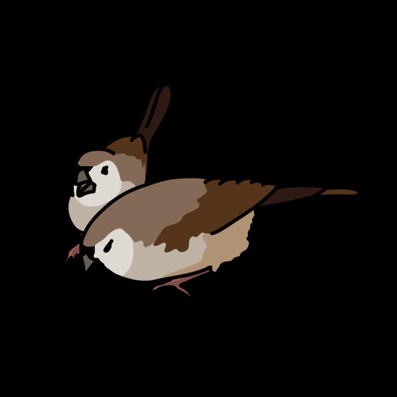 鹿の子雀02