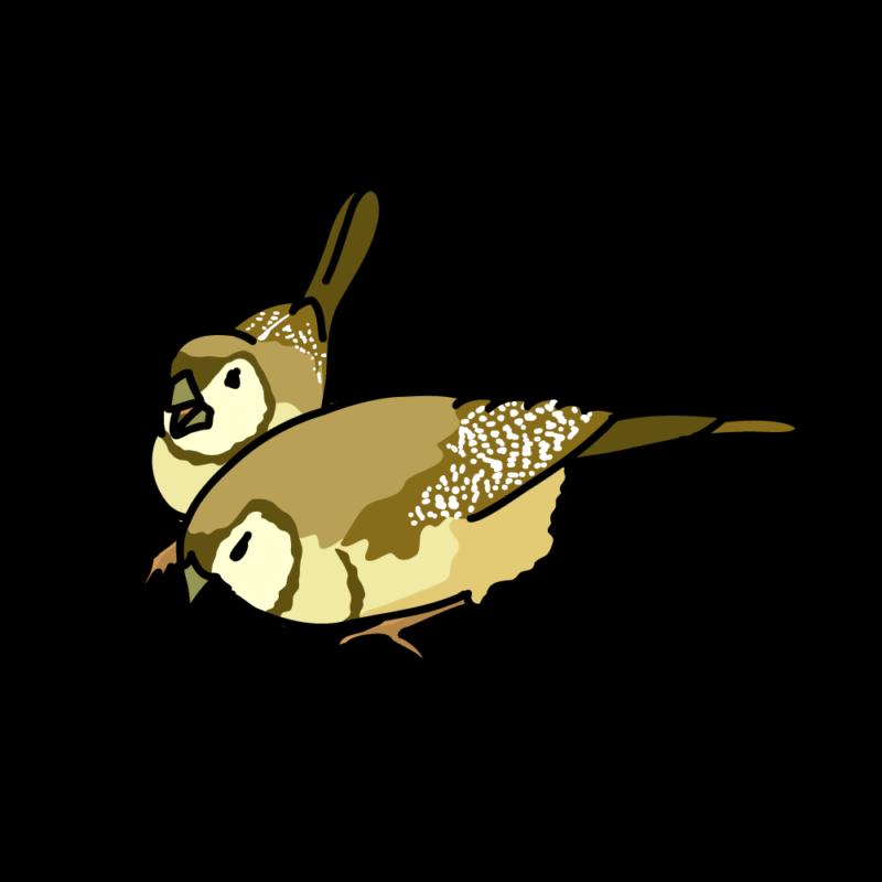 鹿の子雀03