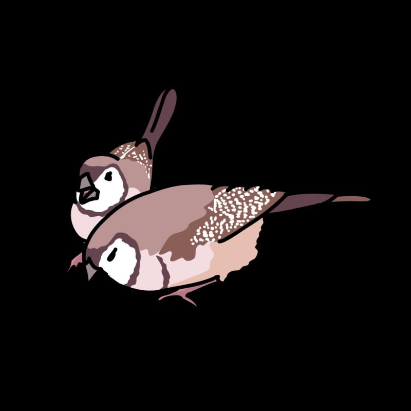 鹿の子雀04