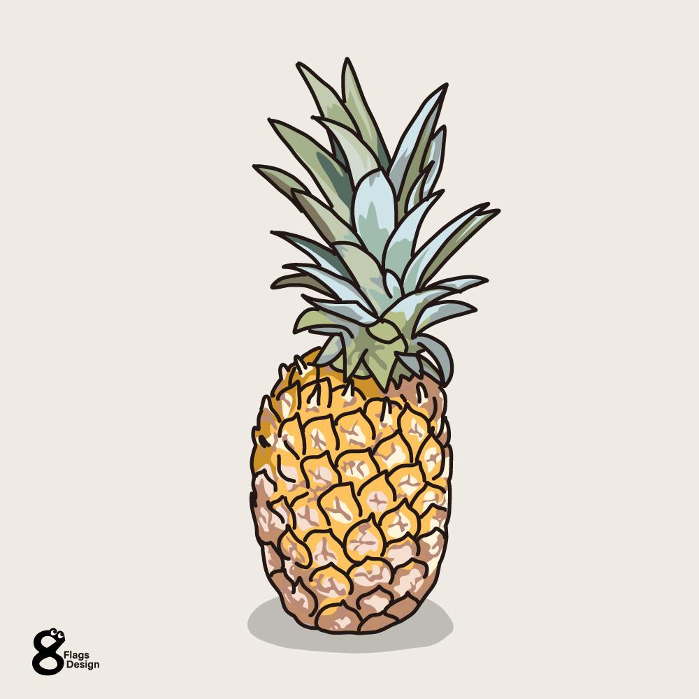 パイナップルのキャッチ画像
