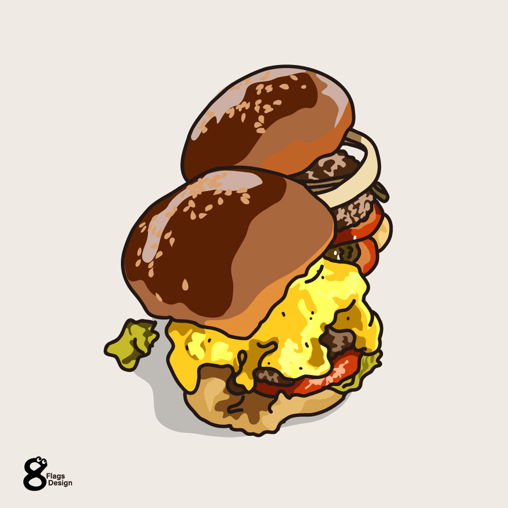 チーズバーガーのキャッチ画像
