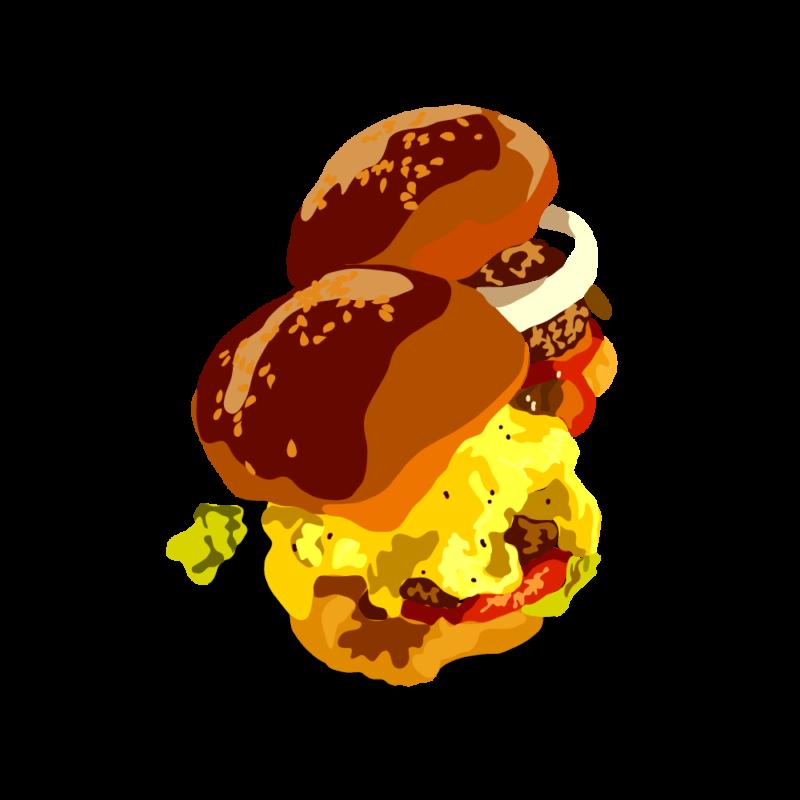 チーズバーガー04