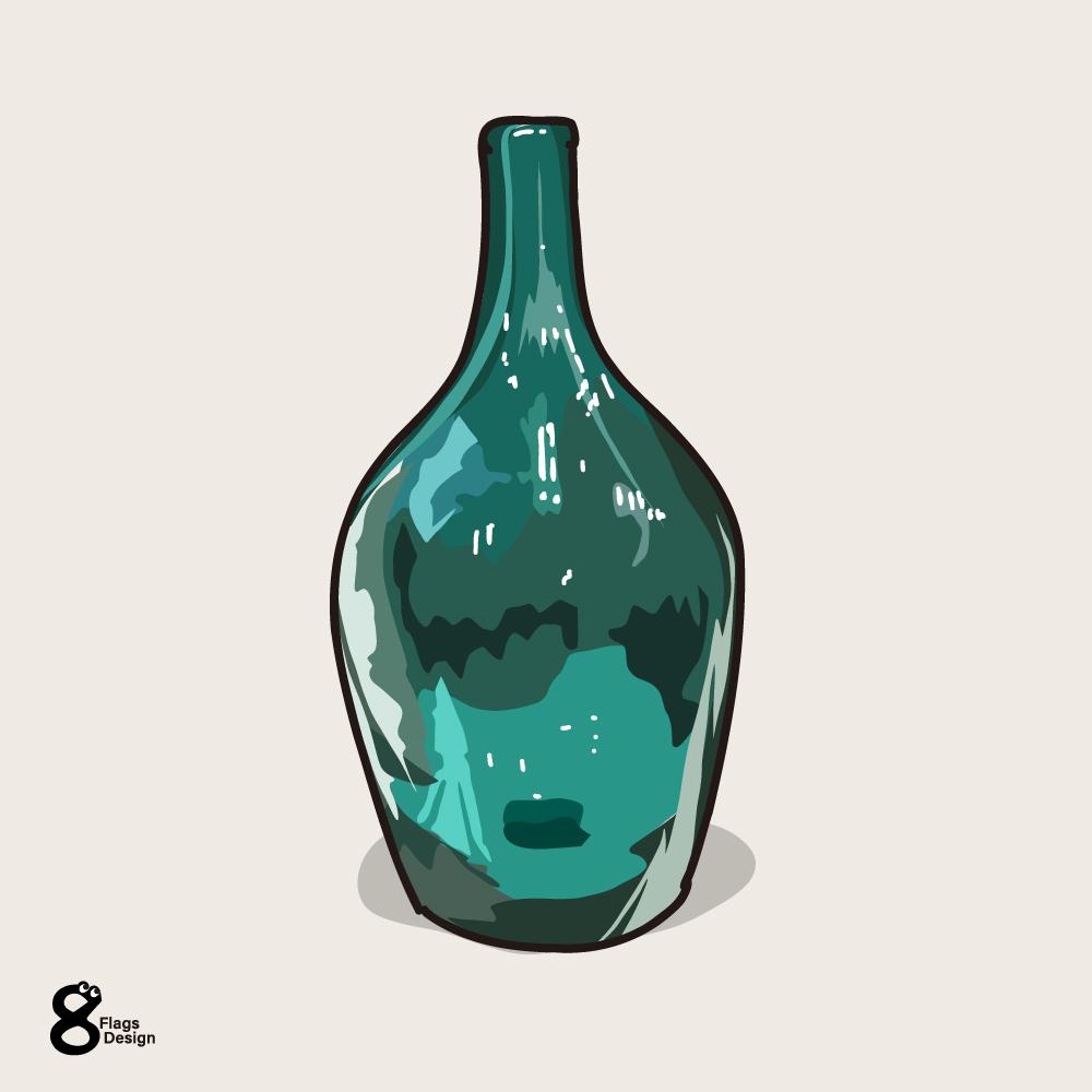 ブルーの瓶のキャッチ画像