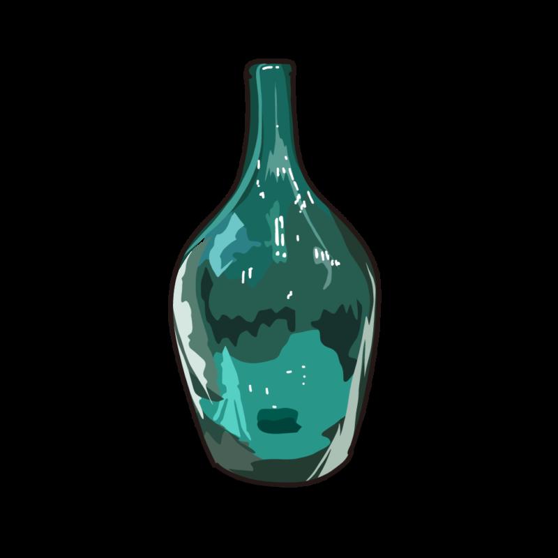 ブルーの瓶01