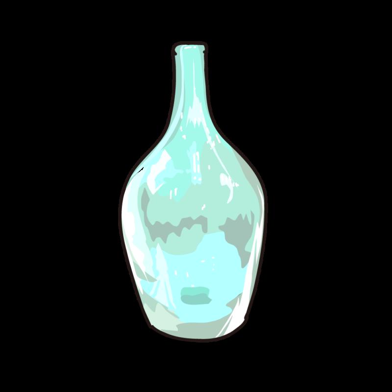 ブルーの瓶03