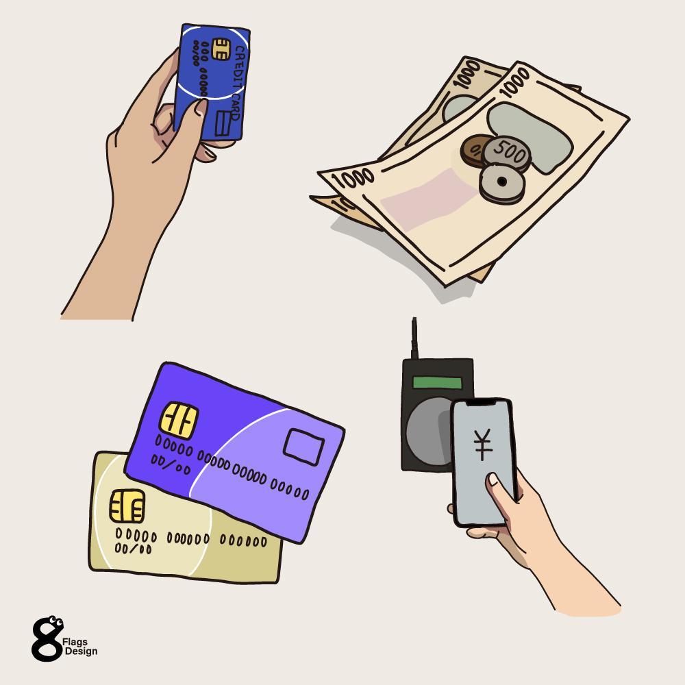 支払い(お金)のキャッチ画像