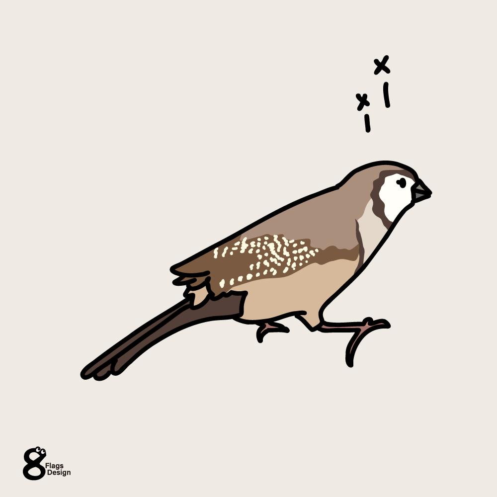 メーメー鳴く鹿の子雀のキャッチ画像