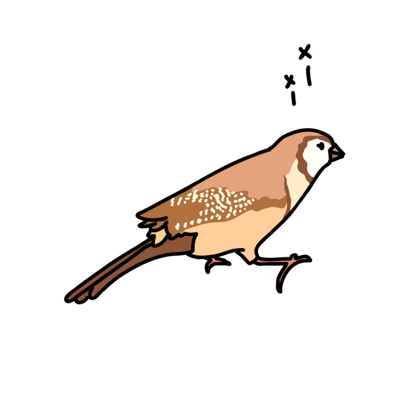 メーメー鳴く鹿の子雀04
