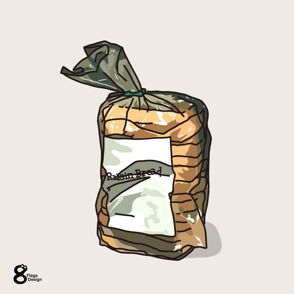 食パンのキャッチ画像