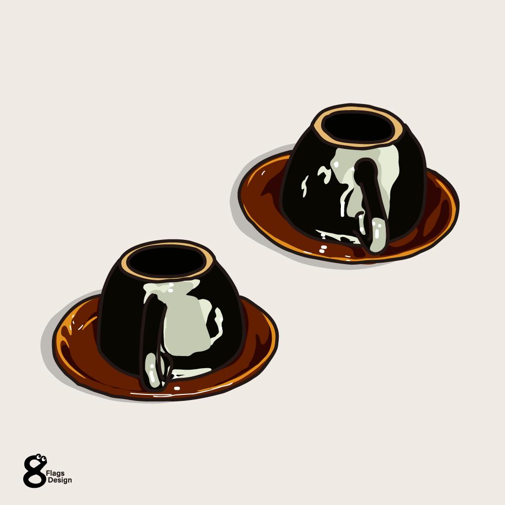 コーヒーカップのキャッチ画像