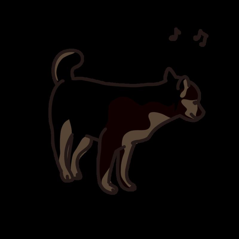ご機嫌の仔犬03