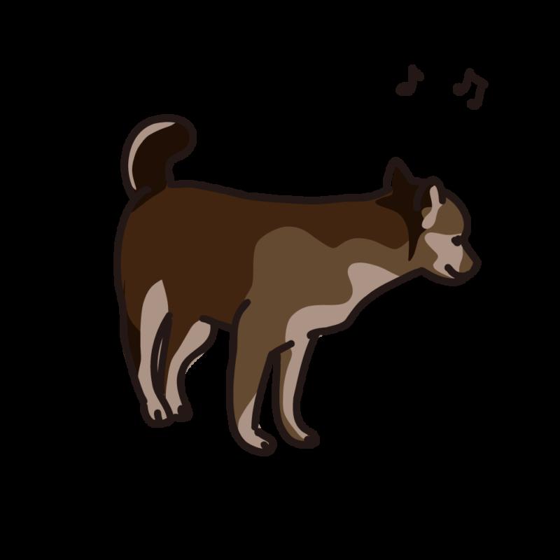 ご機嫌の仔犬04